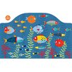 Brewster Home Fashions WallPops Fish Tales Wall Mural