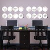 <strong>Brewster Home Fashions</strong> WallPops Kolkata Weekly Dots Chalkboard Wall Decal Set