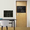 Brewster Home Fashions WallPops Calendar and Message Chalkboard Wall Decal Set