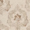 <strong>Brewster Home Fashions</strong> Venezia Luca Crushed Velvet Damask Wallpaper