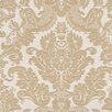 Brewster Home Fashions Venezia Agnese Embossed Damask Wallpaper