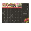 Brewster Home Fashions WallPops Eden Monthly Calendar with Notes Chalkboard Wall Decal Set