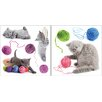 <strong>Brewster Home Fashions</strong> Home Décor Playful Cats Wall Decal