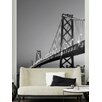<strong>Ideal Décor San Francisco Skyline Wall Mural</strong> by Brewster Home Fashions