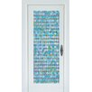 Brewster Home Fashions Premium Peacock Door Window Film