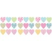 <strong>Brewster Home Fashions</strong> Fun4Walls Stikarounds Hearts Wall Decal