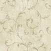 <strong>Brewster Home Fashions</strong> Pompei Avellino Scroll Wallpaper