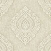 Brewster Home Fashions Pompei Theodor Damask Medallion Wallpaper