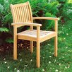 <strong>Oxford Garden</strong> Warwick Stacking Dining Arm Chairs (Set of 4)