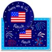 <strong>Olive Kids</strong> 4th of July Independence Day Meal Time Plate Set