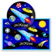 <strong>Olive Kids</strong> Out of This World Personalized Meal Time Plate Set