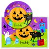 Olive Kids Halloween Personalized Meal Time Plate Set