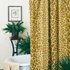 Karin Maki Giraffe Cotton / Polyester Shower Curtain
