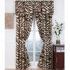 <strong>Karin Maki</strong> Brown Zebra Curtain Panel Pair