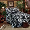 Zebra 4 Piece Bed-in-a-Bag Set