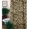 <strong>Zebra Cotton Blend Shower Curtain</strong> by Karin Maki