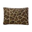 <strong>Giraffe Cotton Blend / Polyester Oblong Pillow</strong> by Karin Maki
