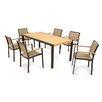 POLYWOOD® Bayline™ 7 Piece Dining Set I