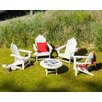 <strong>Long Island 5 Piece Conversation Adirondack Seating Group</strong> by POLYWOOD®