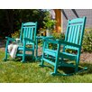 POLYWOOD® Presidential 3 Piece Rocker Seating Group