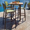 POLYWOOD® Bayline™ 5 Piece Bar Dining Set