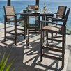 POLYWOOD® Coastal 5 Piece Bar Dining Set