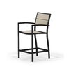 POLYWOOD® Metro Counter Dining Arm Chair