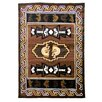 DonnieAnn Company Kingdom Brown Kokopelli Rug