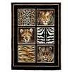 DonnieAnn Company Skinz Skin And Tiger Rug