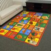 <strong>Paradise Multi Alphabets Food Rug</strong> by DonnieAnn Company
