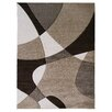 DonnieAnn Company Hollywood Champaign Abstract Wave Area Rug