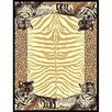 DonnieAnn Company African Adventure Tiger Border Novelty Rug