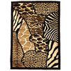 <strong>DonnieAnn Company</strong> Skinz 70 Mixed Animal Skin Prints Patchwork Design Rug