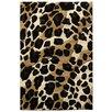 DonnieAnn Company Sculpture Leopard Skin Print Rug