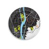 "<strong>City on a Plate 12"" Cairo Dinner Plate</strong> by notNeutral"