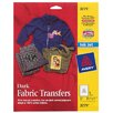 Avery Ink Jet Iron On Dark T-Shirt Transfer 5 Count