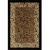 Catalina Black Animal Print Rug