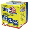 <strong>GBGardnerBender</strong> 200 Count Scott® Rags In-A-Box 75260