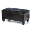 Ave Six Detour Leather Storage Ottoman