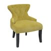 <strong>Curves Hour Velvet Slipper Chair</strong> by Ave Six