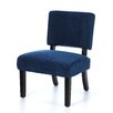 Ave Six Jasmine Fabric Slipper Chair