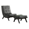 Ave Six Tustin Lounge Chair and Ottoman Set