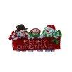 "Alpine 10"" Snowman Family Indoor Hanging Christmas Decoration"