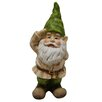 <strong>Alpine</strong> Gnome Saluting Statue