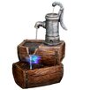 <strong>Fiberglass 2 Tier Barrel Fountain</strong> by Alpine