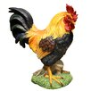 <strong>Alpine</strong> Garden Rooster Statue