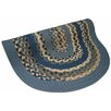 <strong>Thorndike Mills</strong> Minuteman Blue Multi with Dark Blue Solids Multi Round Rug