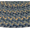 <strong>Thorndike Mills</strong> Pioneer Valley II Williamsbury Blue Multi Runner Outdoor Rug