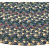 <strong>Thorndike Mills</strong> Pioneer Valley II Meadowland Blue Multi Elongated Octagon Outdoor Rug