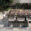 <strong>Alfresco Home</strong> Gibraltar Mosaic 9 Piece Dining Set